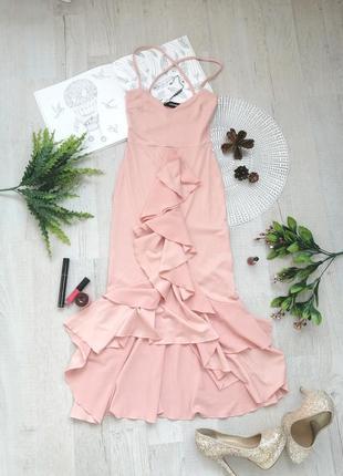 Платье  цвет пудра prettylittlething