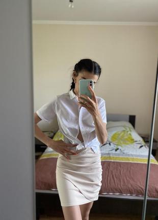 Сорочка/asos/рубашка /блуза/біла/базова.