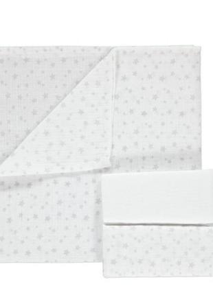 Муслиновые пелёночки набор наборчик пеленки пелёночки