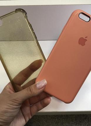 Набор комплект силиконовых чехлов чехол на айфон iphone 6/6s case for iphone