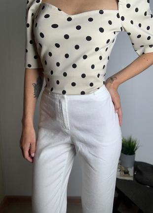 Блуза кофта с воланами h&m