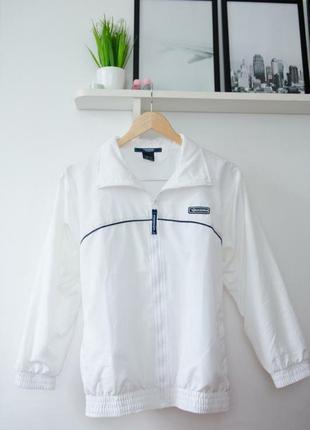 Спортивна куртка белая diadora