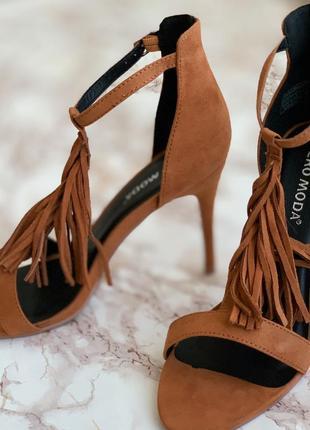 Красивые босоножки туфли от vero moda !