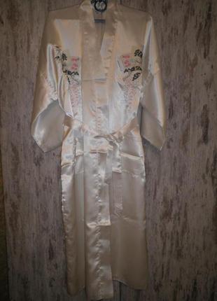 Халат кимоно плотный ткань в два слоя полиестр китай
