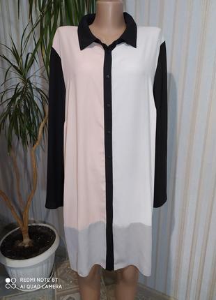 Суперская удлиненная рубашка туника и даже платье