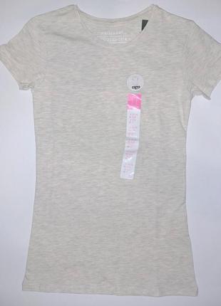 Женская базовая стрейчевая футболка primark