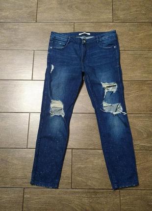 Джинсы # рваные джинсы