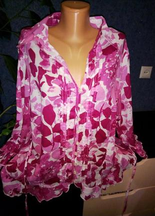 Блузка натур.ткань