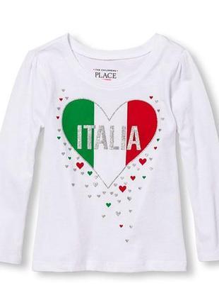 Реглан с сердцем италия