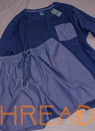 Домашний костюм / пижама / шорты и футболка большого размера