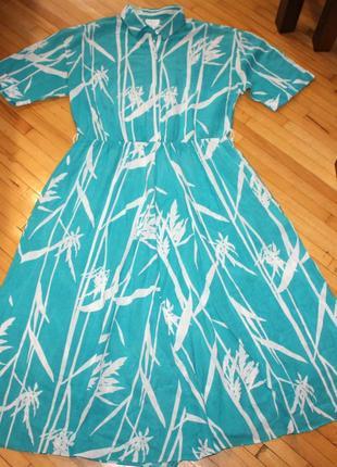 Летнее платье соттоn st.michael