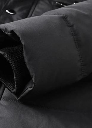 Мужская зимняя куртка на меху kang, синяя4 фото