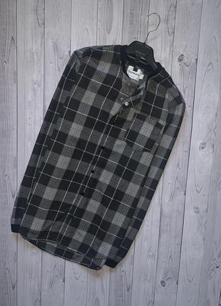 Бомбер рубашка клетка topman zara