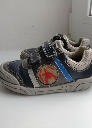 Стелька 15,5 см.кожаные туфли кроссовки clarks jets