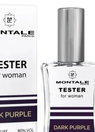 Тестер парфюмированной воды montale dark purple 60ml