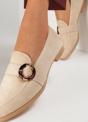 Лоферы туфли балетки
