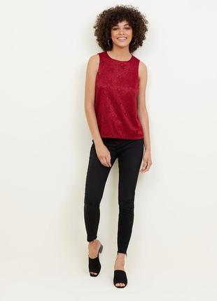 New look. товар из англии. кружевная блуза с просвещающей спиной.