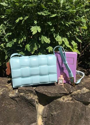 Трендова блакитна сумка