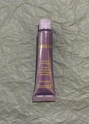 Миниатюра освежающий очищающий массажный крем menard embellir refresh massage,8мл