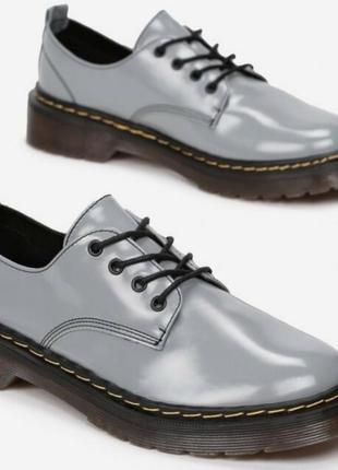 Натур.кожа стелька полуботинки кеды сникерсы туфли на толстой подошве dr.martens