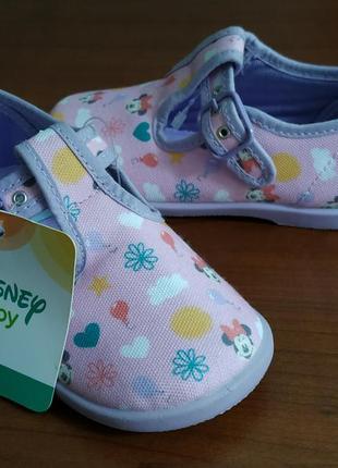 Тапочки детские disney baby 25