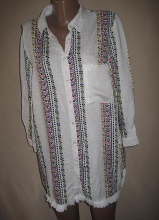 Вискозная блуза tu р-р18