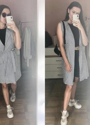 Платье   на жакет кардиган