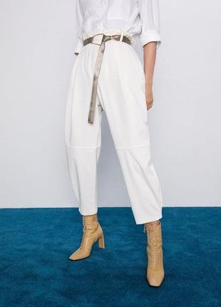 Актуальные штаны zara коллекция 2020 года