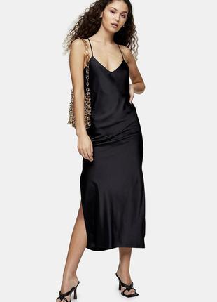 Платье в бельевом стиле topshop