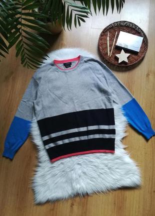 Кашемировый свитер реглан m&s.