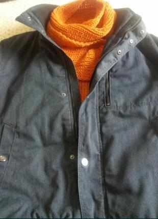 Куртка демисезонная h&m, модная укороченная куртка, осенняя джинсовая куртка