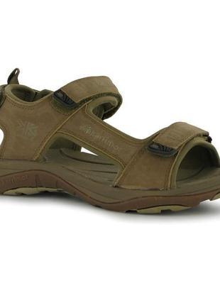 Кожаные сандалии босоножки унисекс 37 karrimor