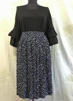 Шикарная легкая юбка большого размера