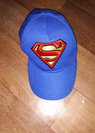 Кепка superman! состояние отличное!