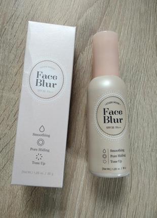 Основа под макияж face blur(etude house)