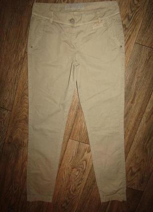 Натуральные брюки р-р 8-s бренд s.oliver