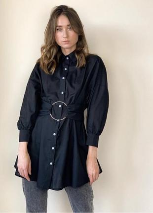 Платье - рубашка prettylittlething3 фото
