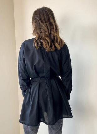 Платье - рубашка prettylittlething5 фото