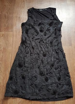 Вишукана чорна маленька сукня 🖤❤