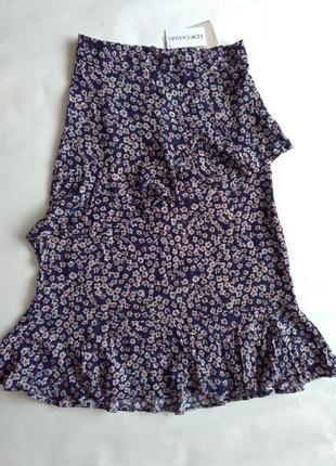 Стильная юбка вискоза