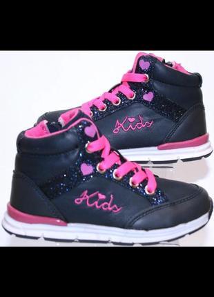 Детские ботинки для девочек renda италия размеры 25-30