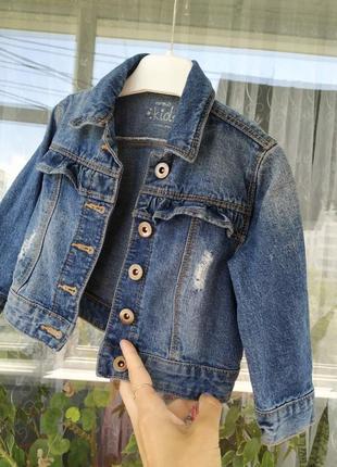 Джинсовка,джинсовый пиджак