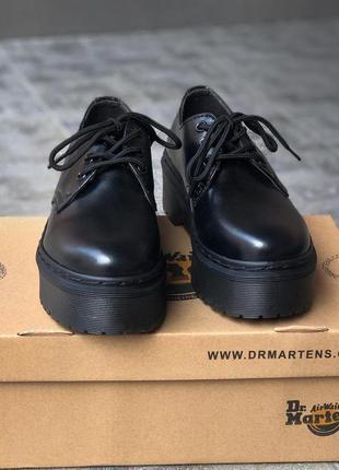 Ботинки женские, мужские dr. martens platform, черные (доктор мартинс, мартинсы, обувь)9 фото