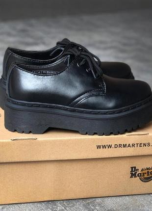 Ботинки женские, мужские dr. martens platform, черные (доктор мартинс, мартинсы, обувь)7 фото