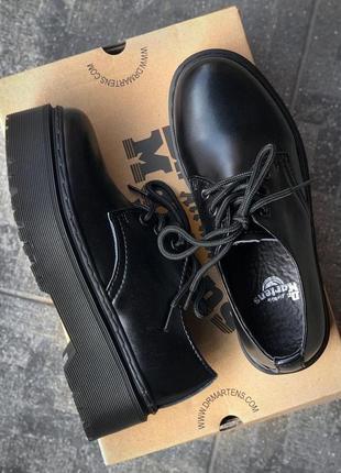 Ботинки женские, мужские dr. martens platform, черные (доктор мартинс, мартинсы, обувь)10 фото
