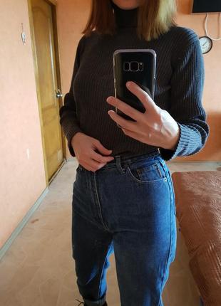 Стильные джинсы синие