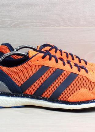Легкие мужские кроссовки adidas boost adizero adios оригинал, размер 47 - 48