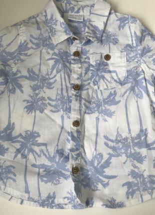 Рубашка на кроху 1,5-2 года
