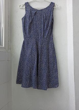 Красивое платье в горох вискоза