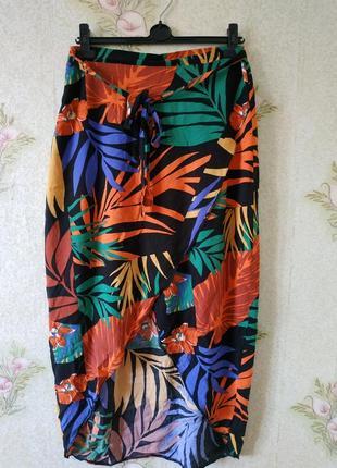 Женская юбка # вискозная юбка # летняя лёгкая юбка # george